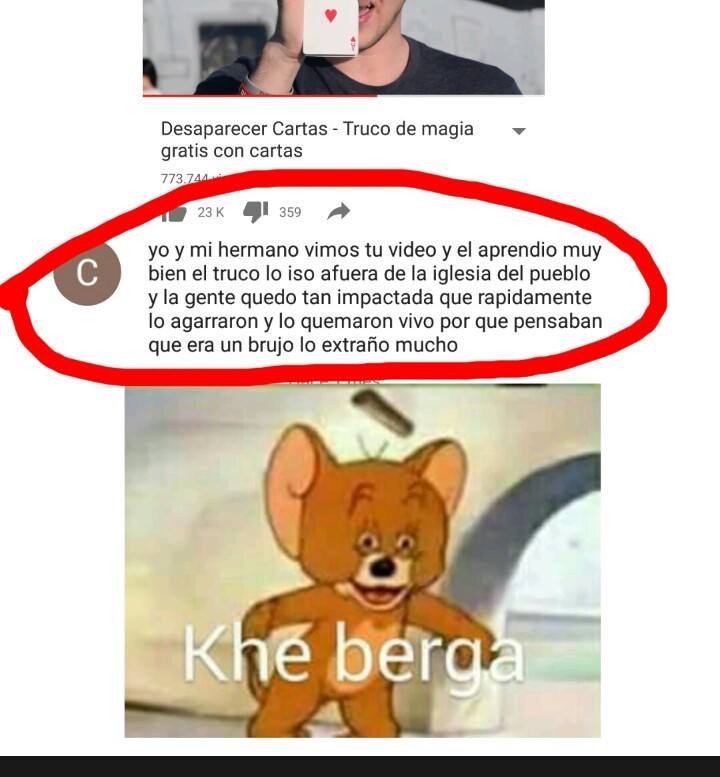 KHE BERGA - meme