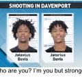 shootings is the favorite sport for black people in Davenport, Iowa