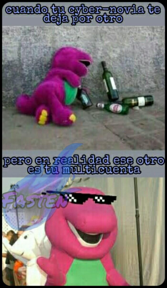 este Barney - meme