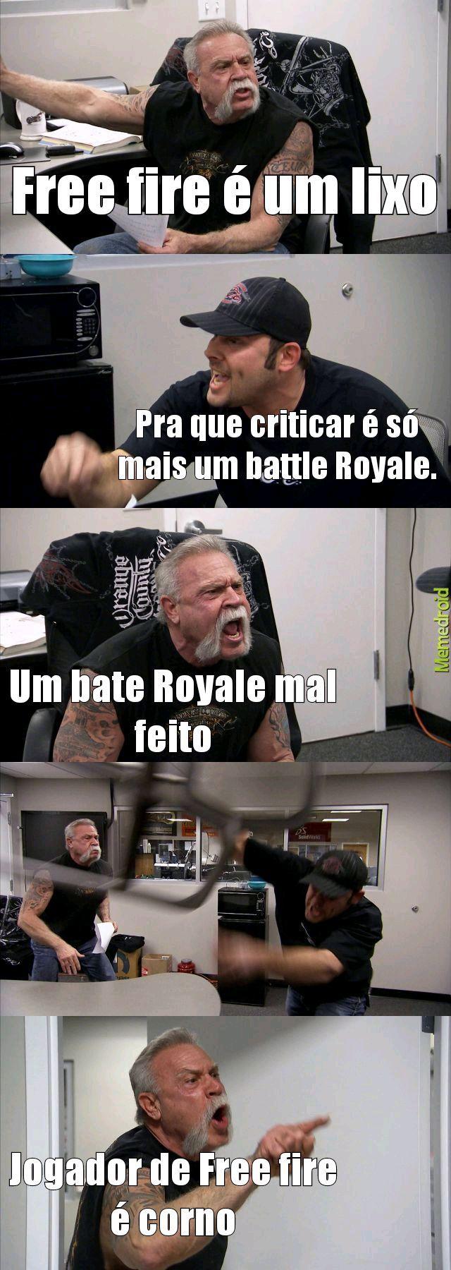 Fogo gratis - meme