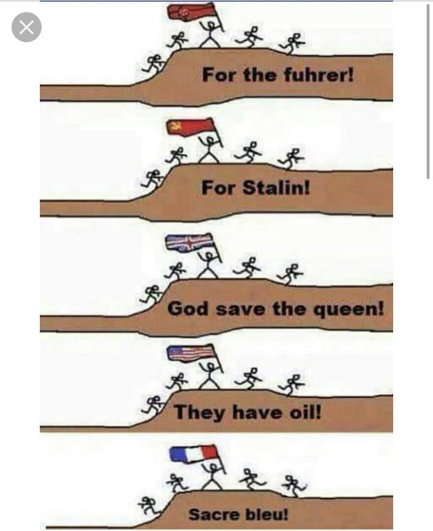For ____the motherland - meme