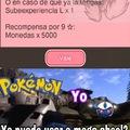 Me pide como requisito para que me den una mega piedra megaevolucionar al pokemon del que no tengo piedra