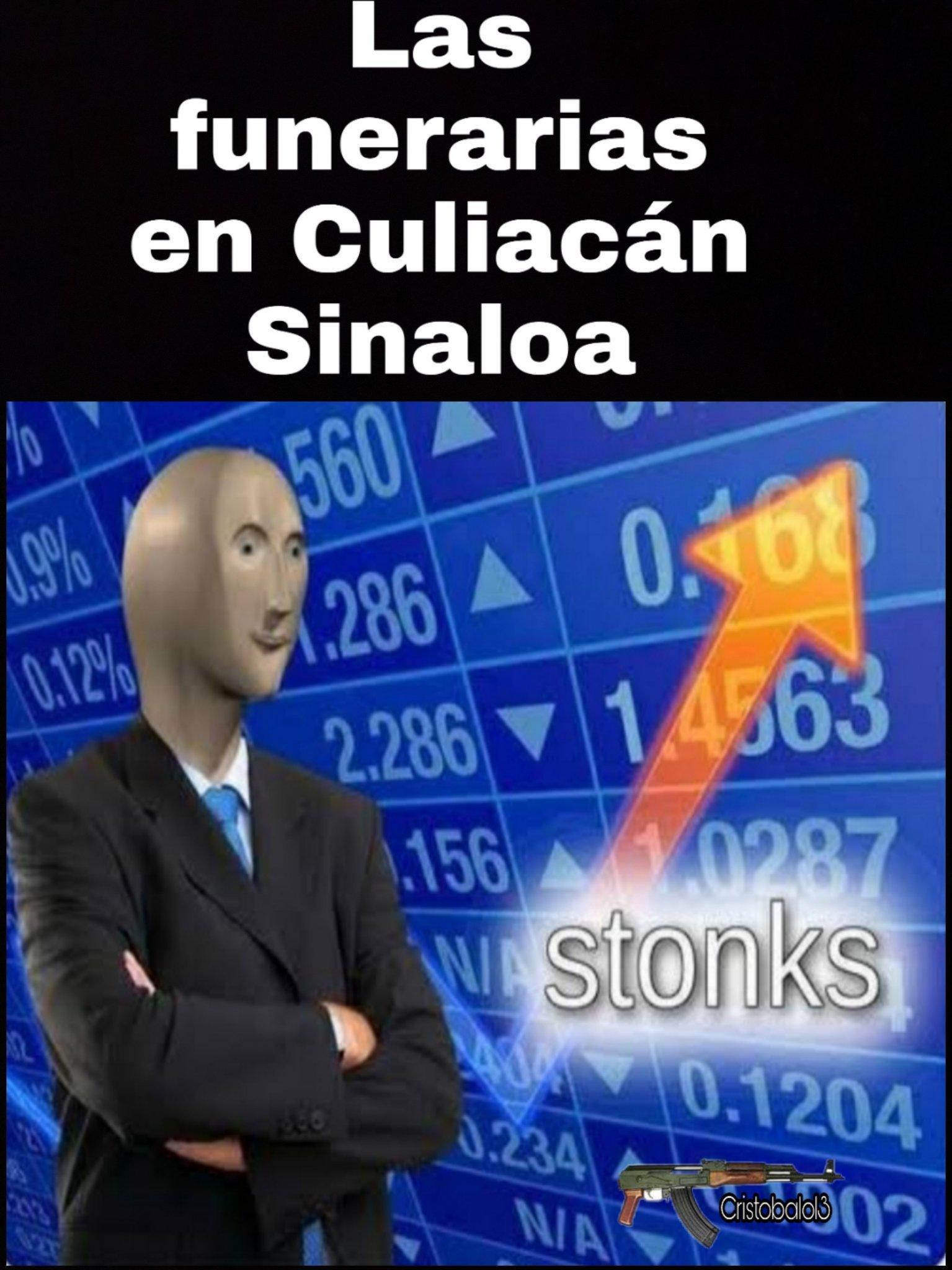 Buen momento para las funerarias en México - meme
