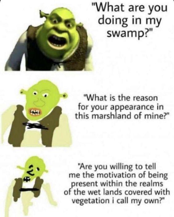 me swamp - meme