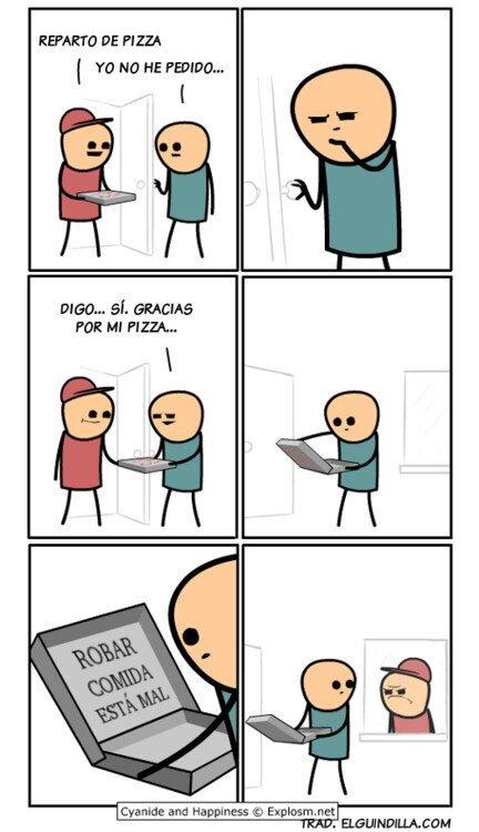 No robes comida - meme