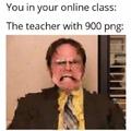 Online class finna be lit