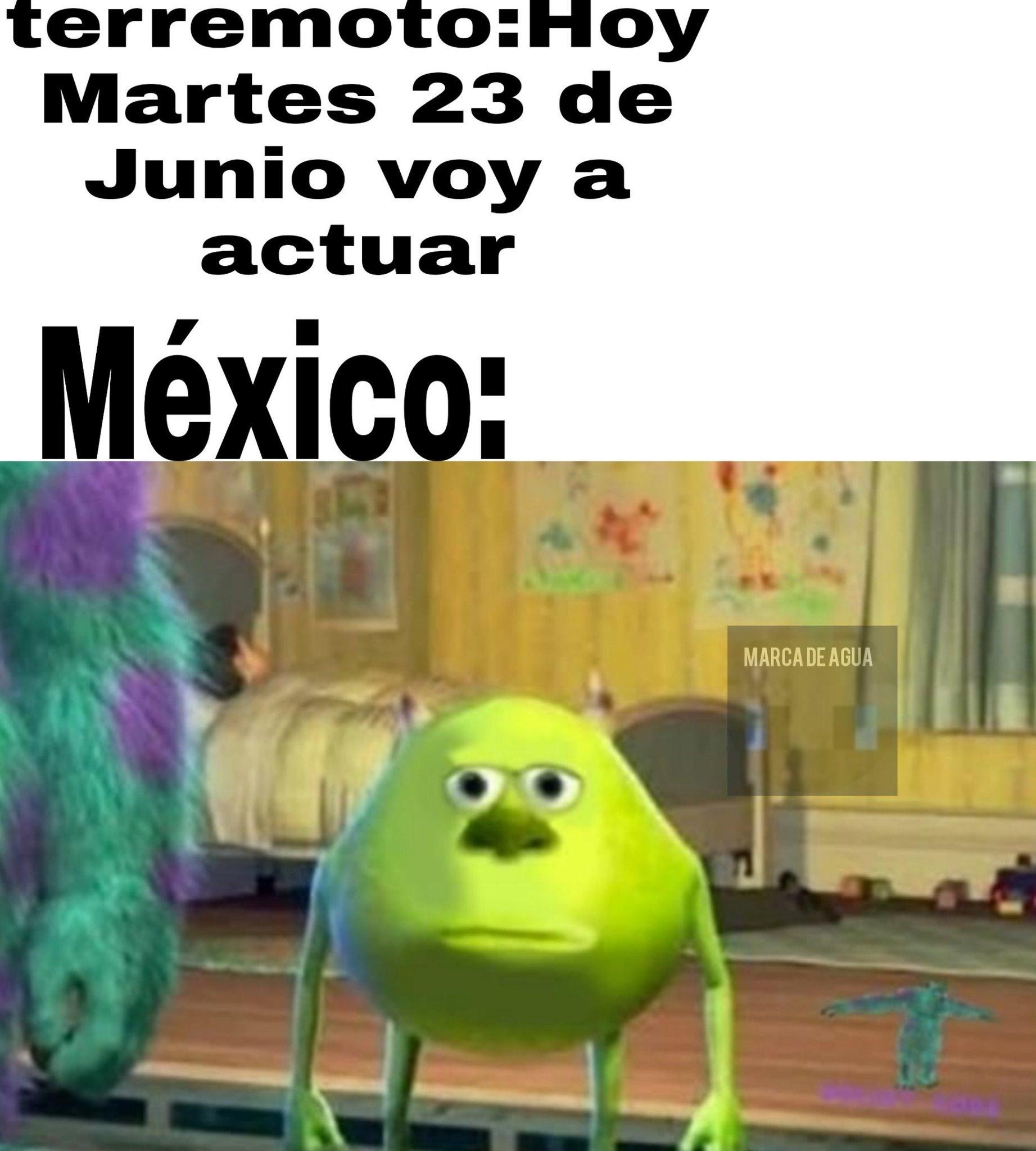 Mexico en el nuevo terremoto - meme