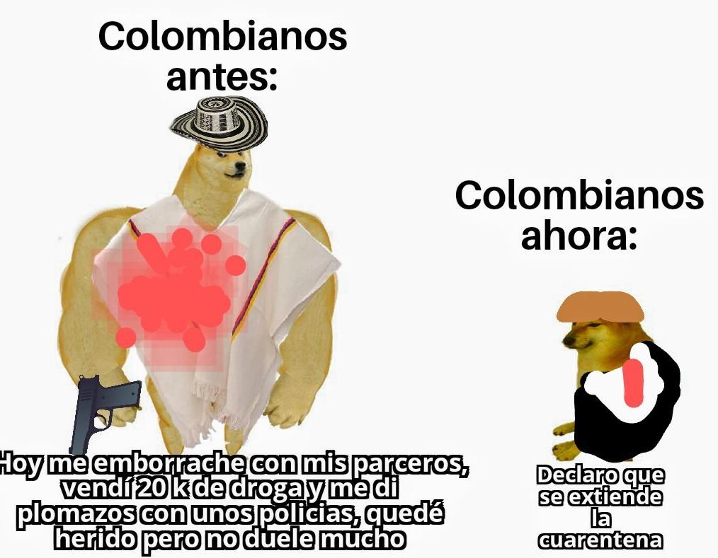 El título está comiendo harina por la nariz (TITULO COLOMBIANO DETECTED) - meme