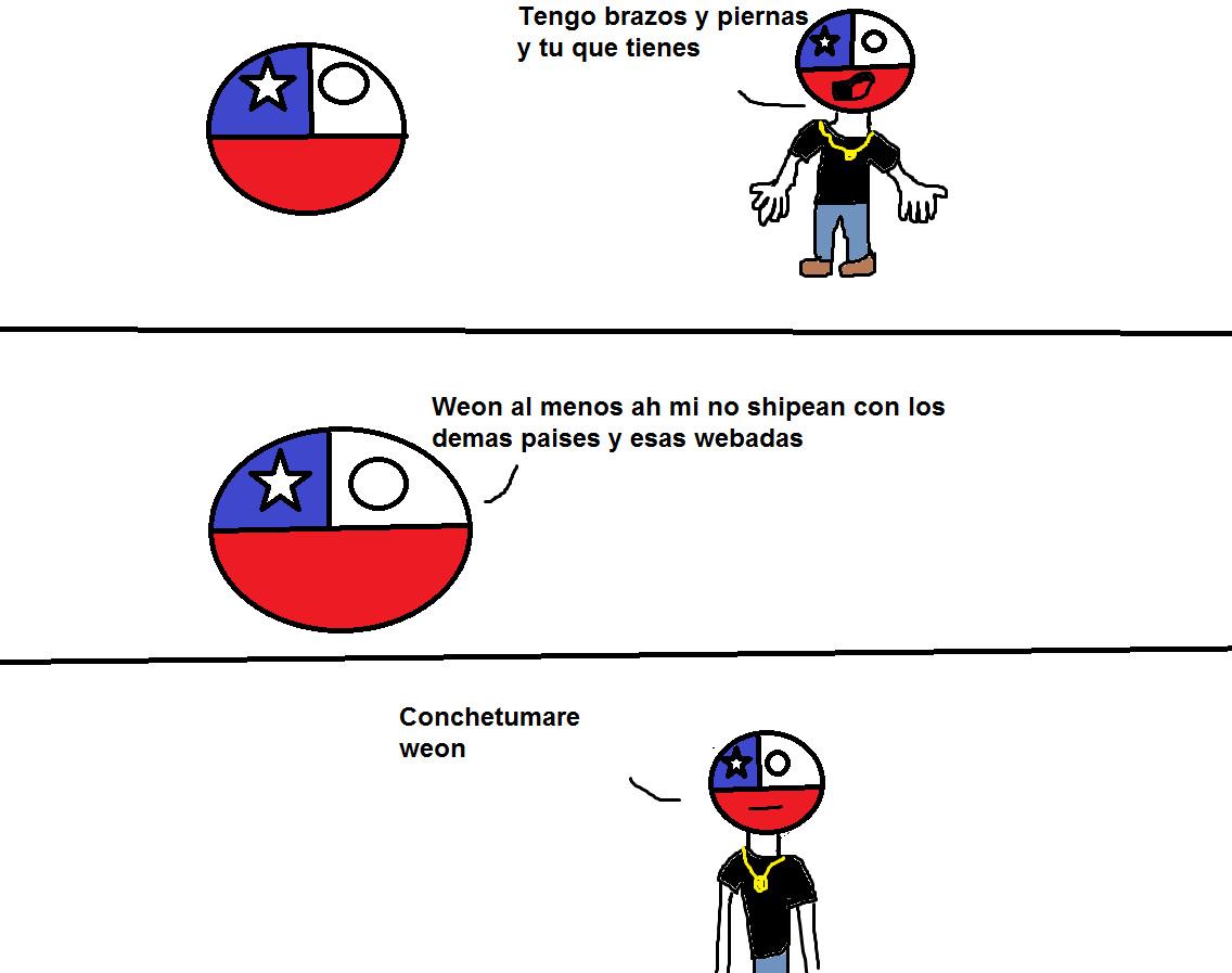 chile ball vs chile human - meme