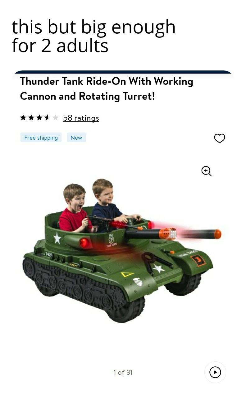 Adults need plastic neighborhood war machines too - meme
