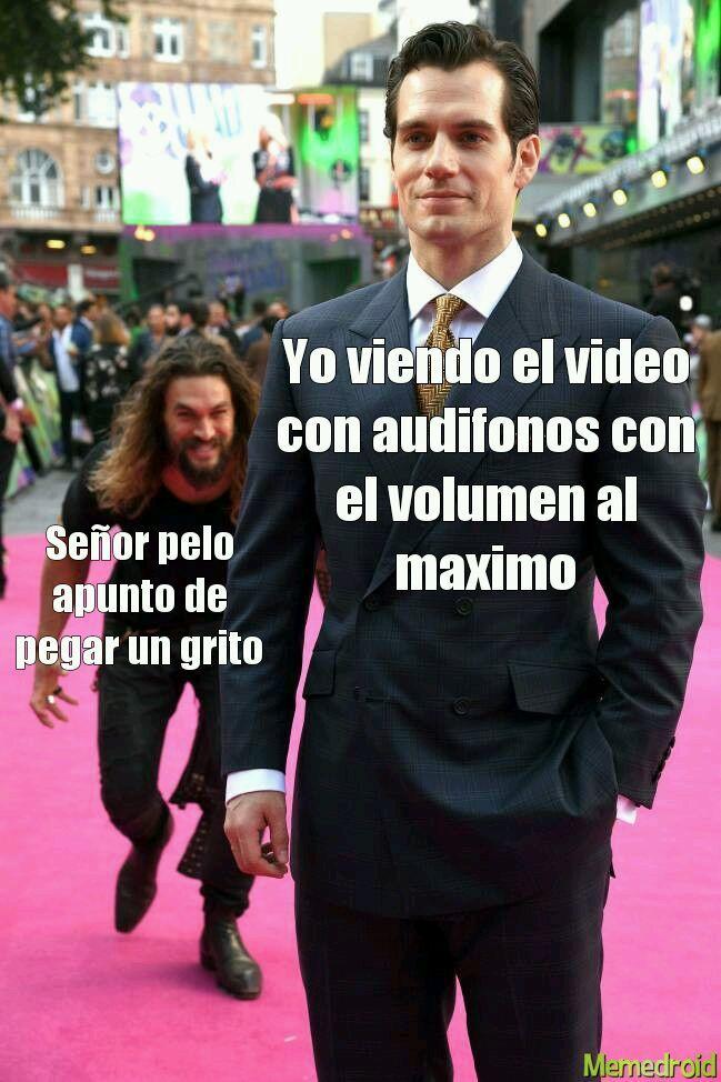 Señor pelo - meme