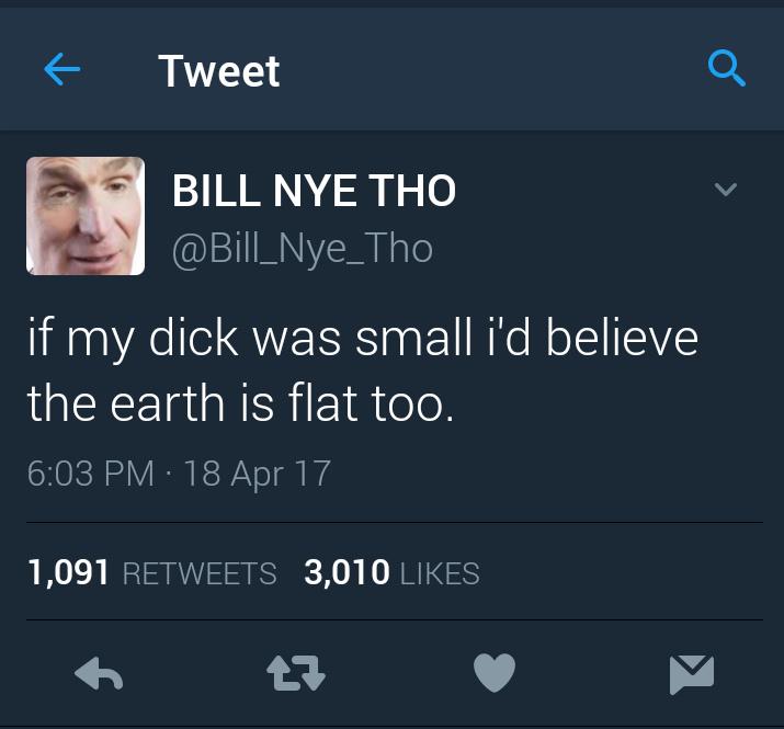 Bill Nye tho - meme