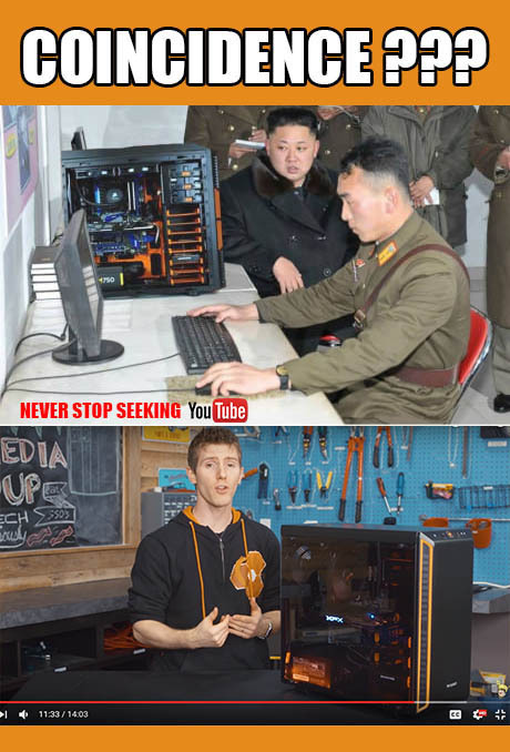 Special North Korea build - meme