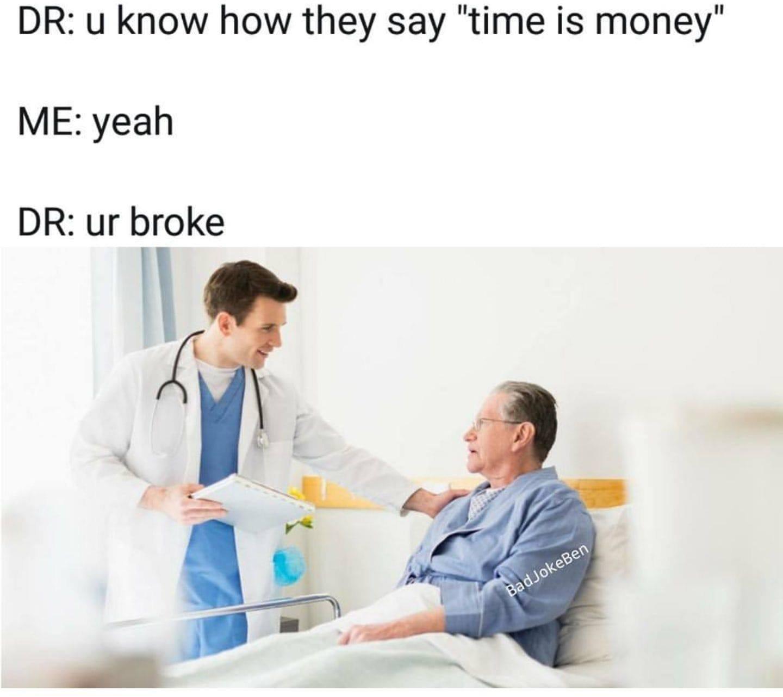 Alive machine broke - meme