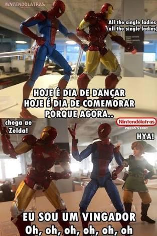 O título está em Sokovia - meme