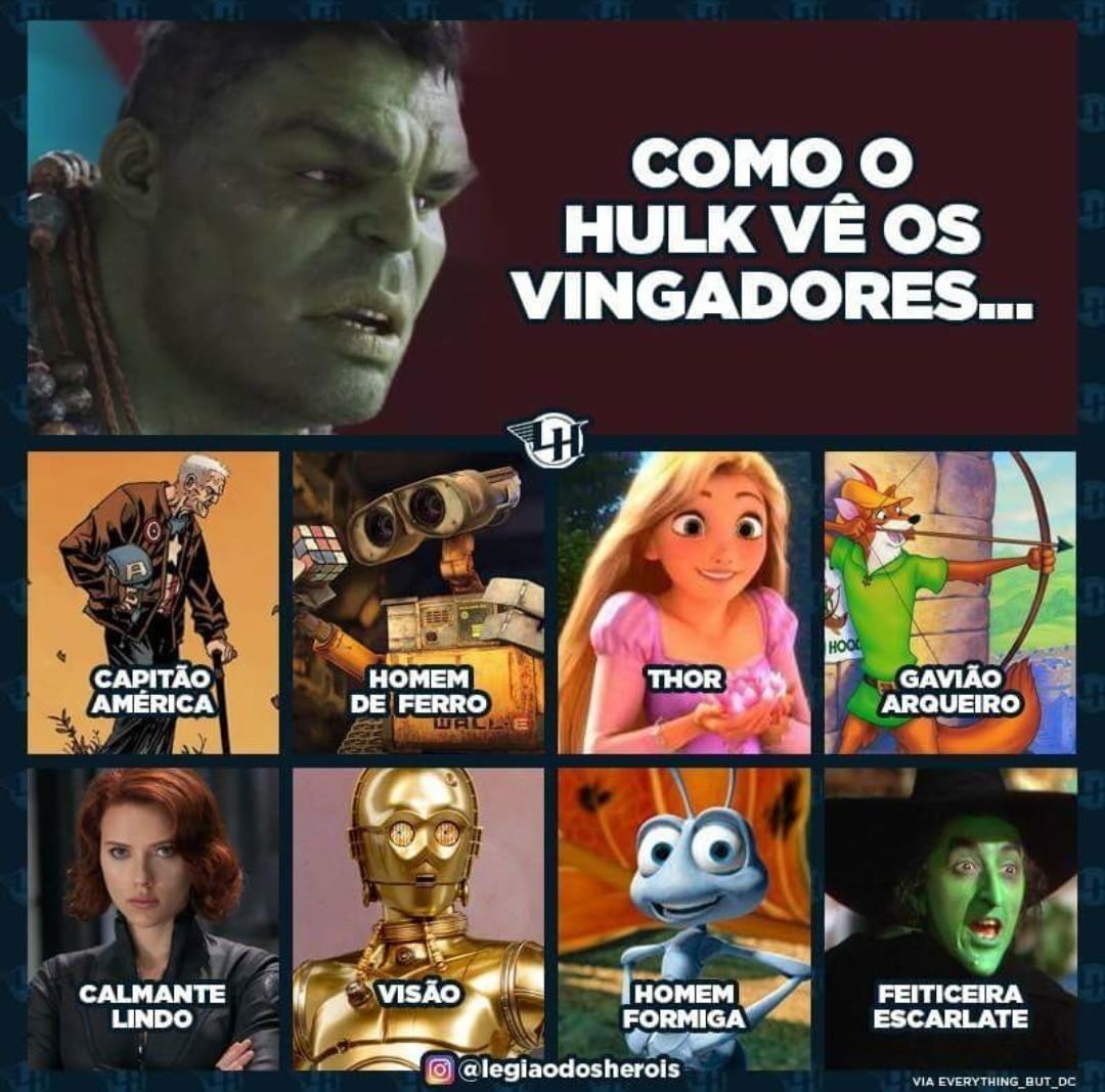 Hulk men - meme