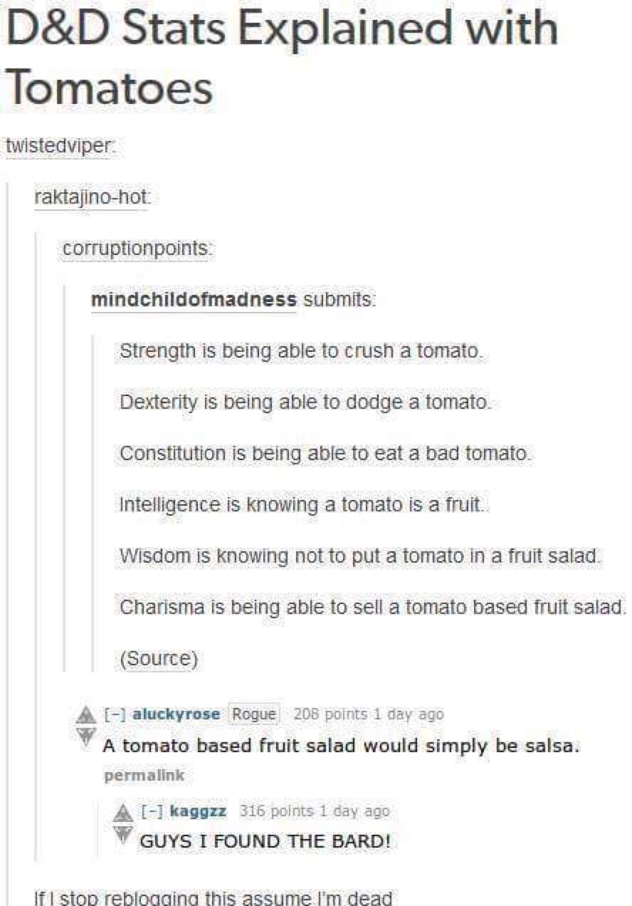 DND jokes fam - meme