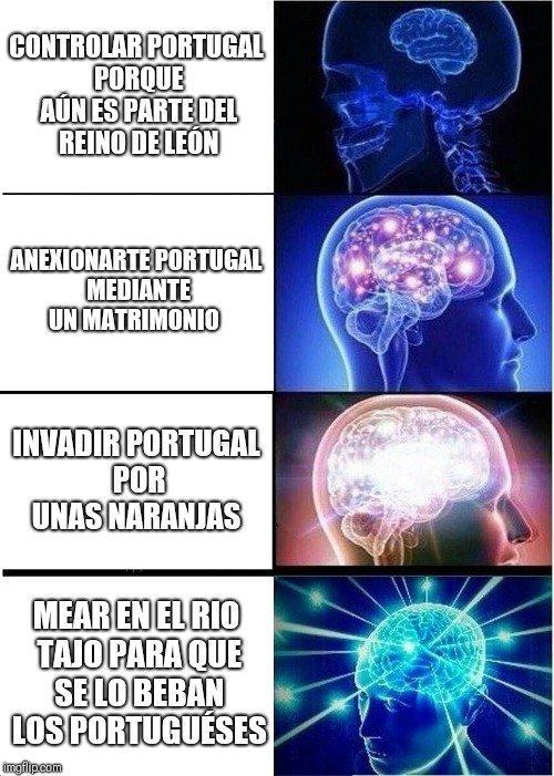 Una union de los paises de Iberia - meme