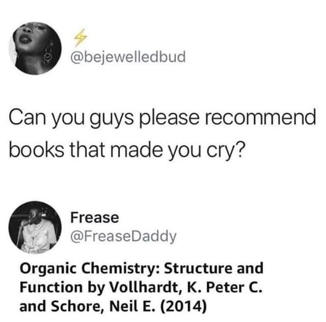 Books that made you cry - meme