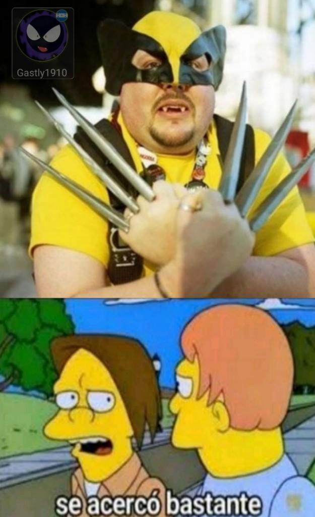 Es Wolverine, version chasta. - meme