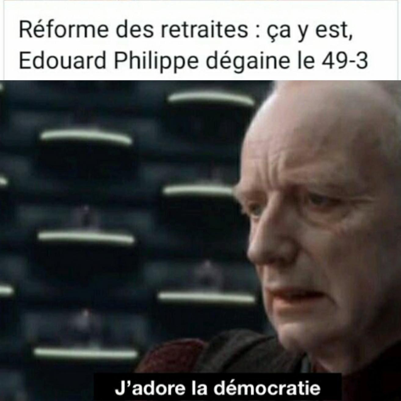 Vive la démocratie - meme