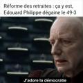Vive la démocratie