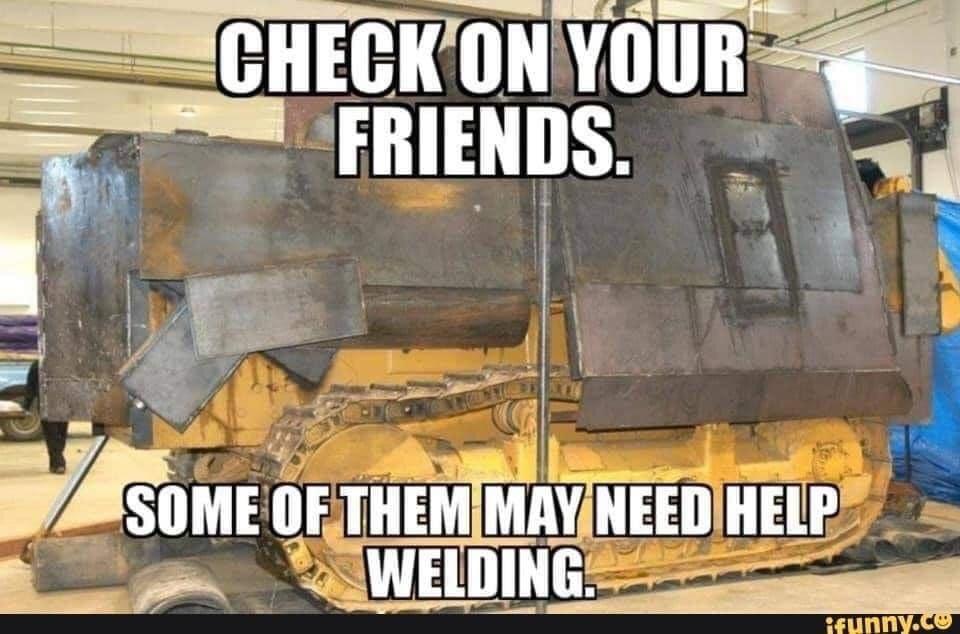 Check your friends - meme