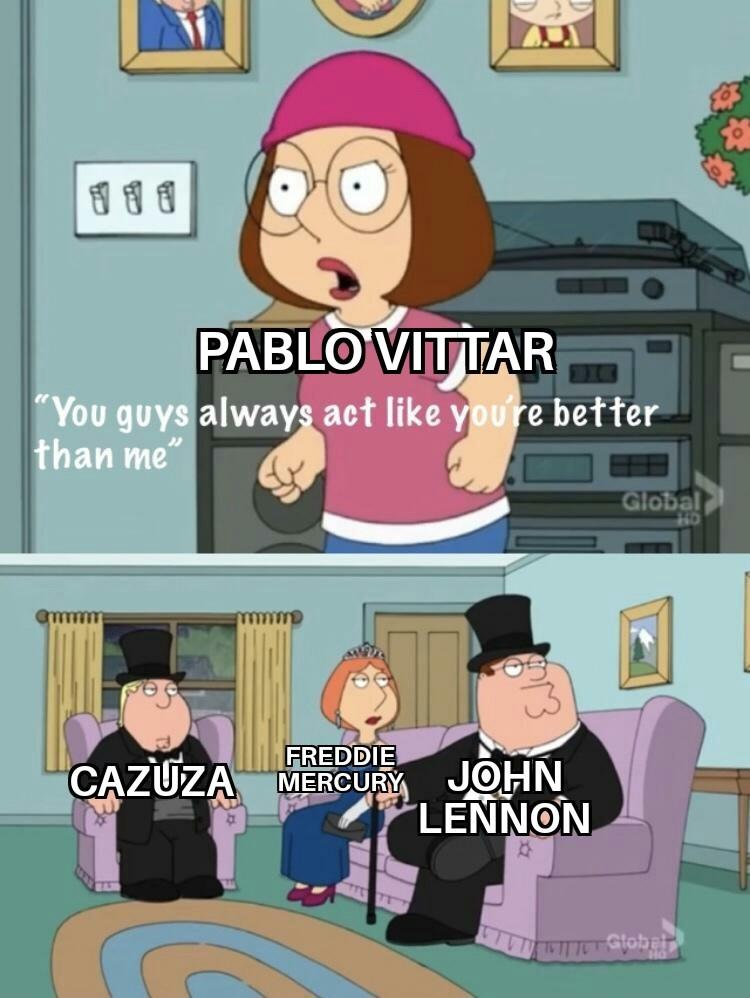 Não fã de Pablo Vittar e Anitta, vc não vai chupar meu pinto - meme