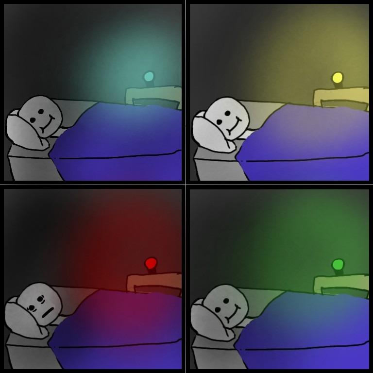 Nightlight as a kid - meme