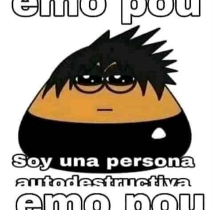Emo pou - meme