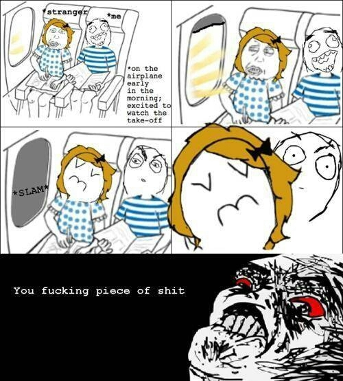 the most interesting part of the flight! - meme