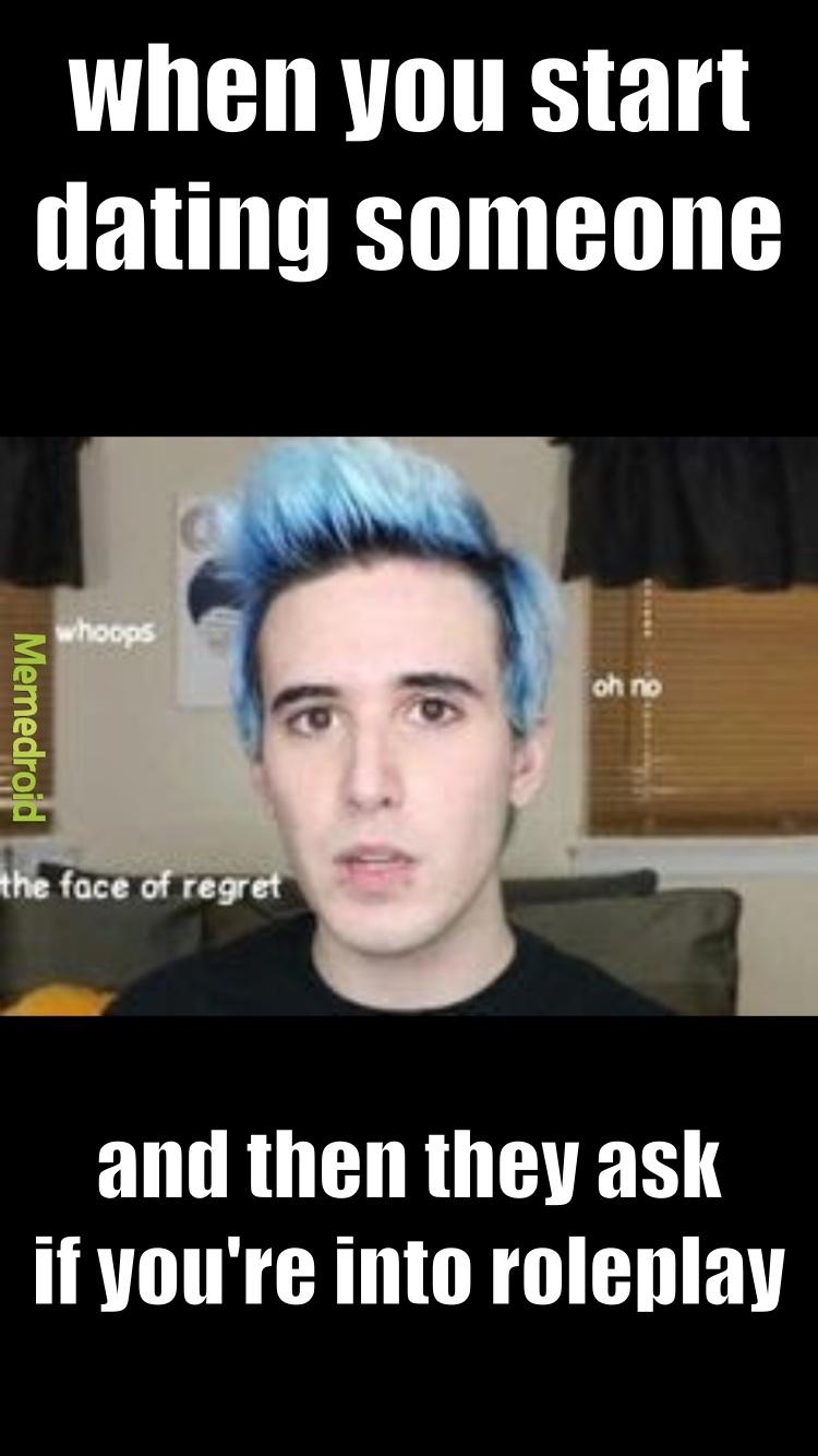 the face of regret - meme