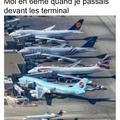 Les avions c'est beau