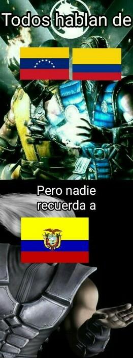 Pobre ecuador, es paraguay 2 - meme