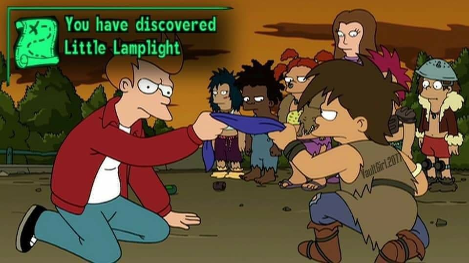 has descubierto Pequeña Luz de Lámpara - meme