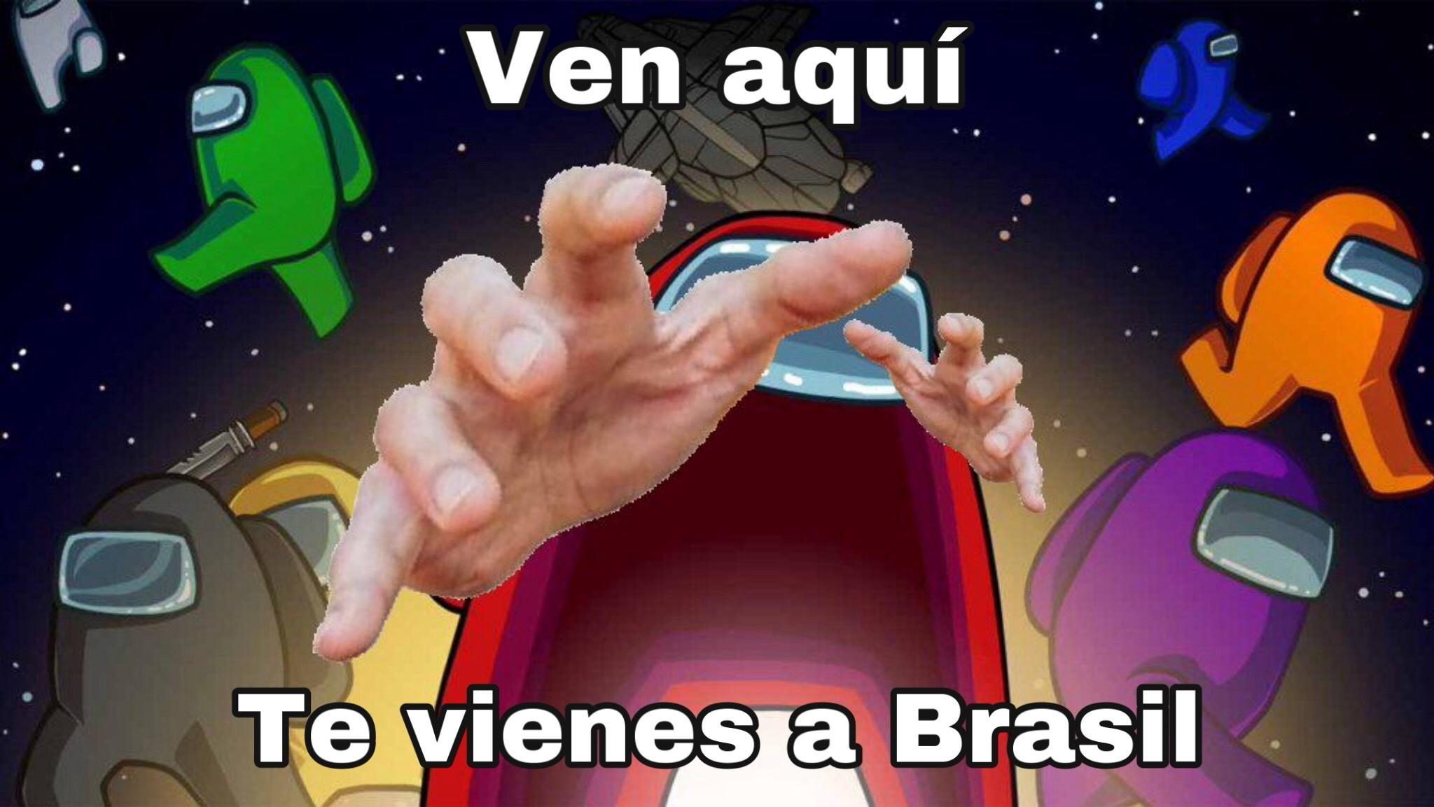 Noooooo no quiero ir a brasil nooo aaaaaaaaaa - meme