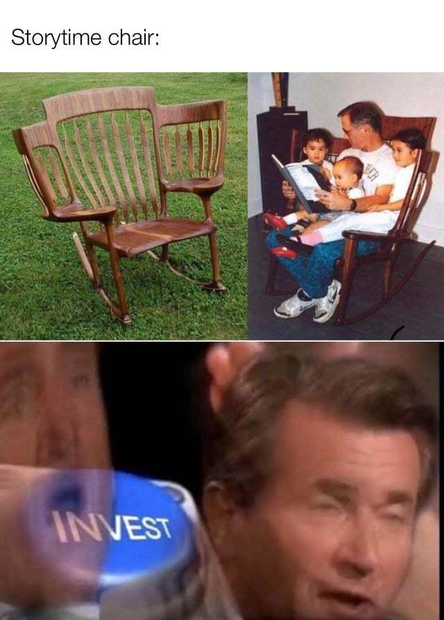 Storytime chair - meme