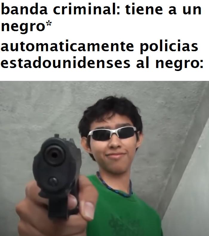 yo soy negro... - meme