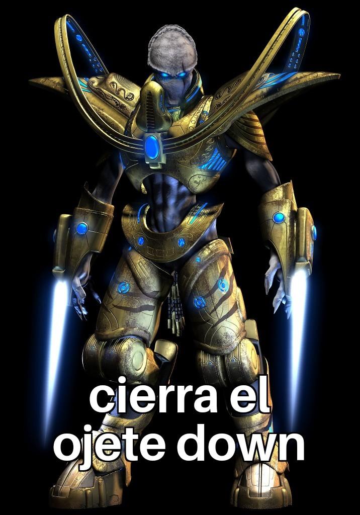 Cierra el ojete down :son: - meme