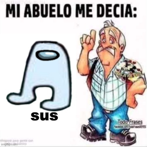 amogus es meme muerto