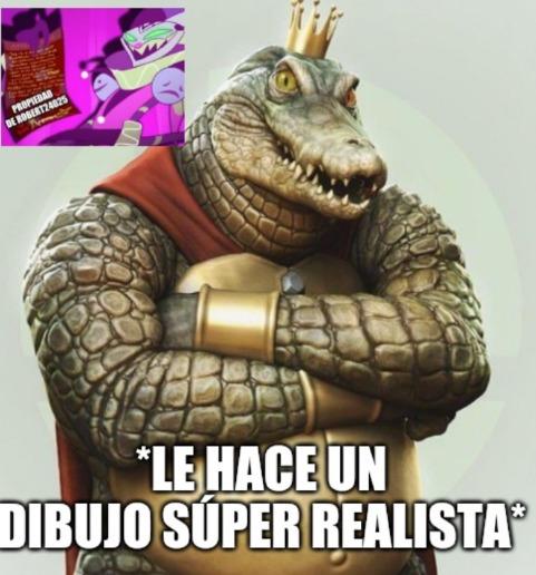 King.k rool realista - meme