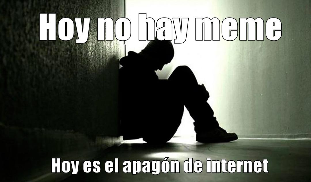 Hoy miles de PCs, celulares y consolas (3DS y PS3) se quedarán sin internet :sadtroll: :crying: :sojackb: - meme