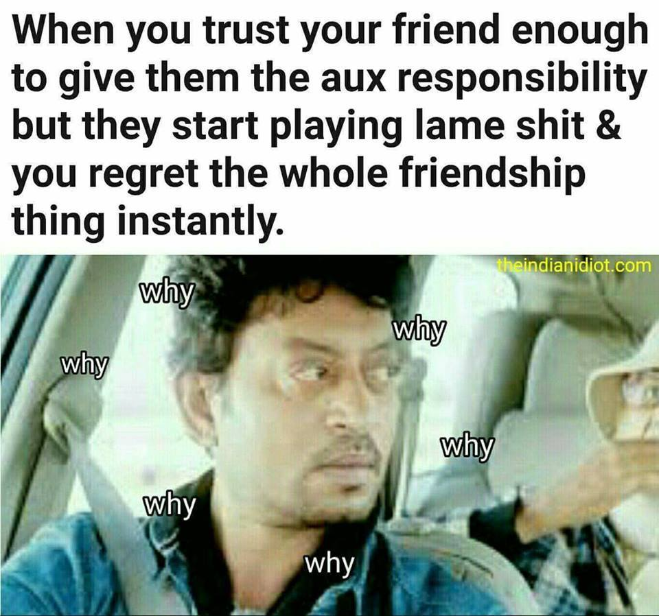 why? piece of shit.. - meme