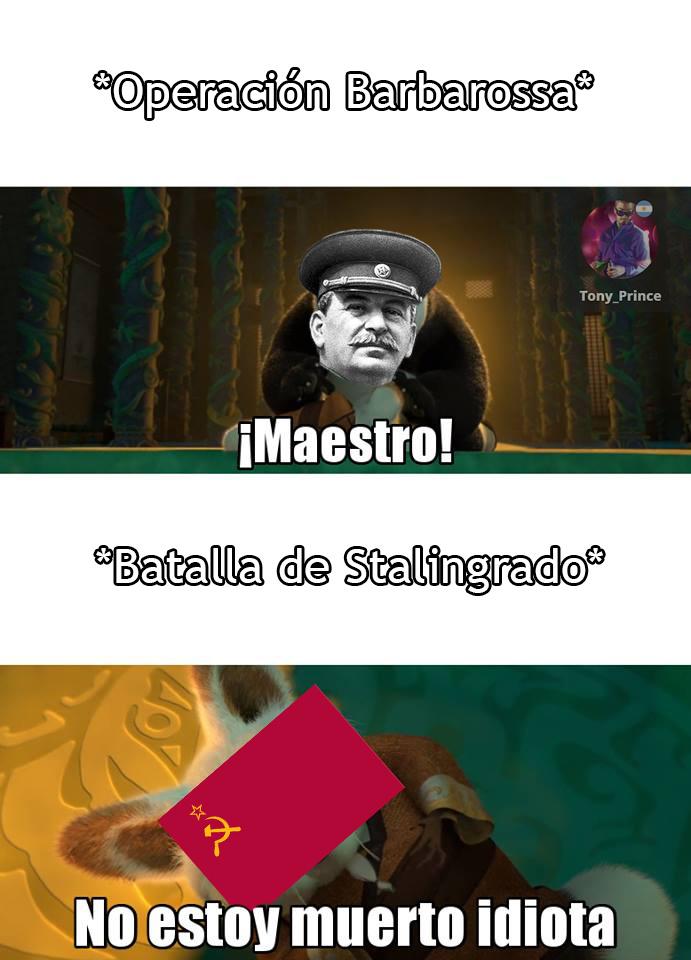 El contraataque soviético - meme