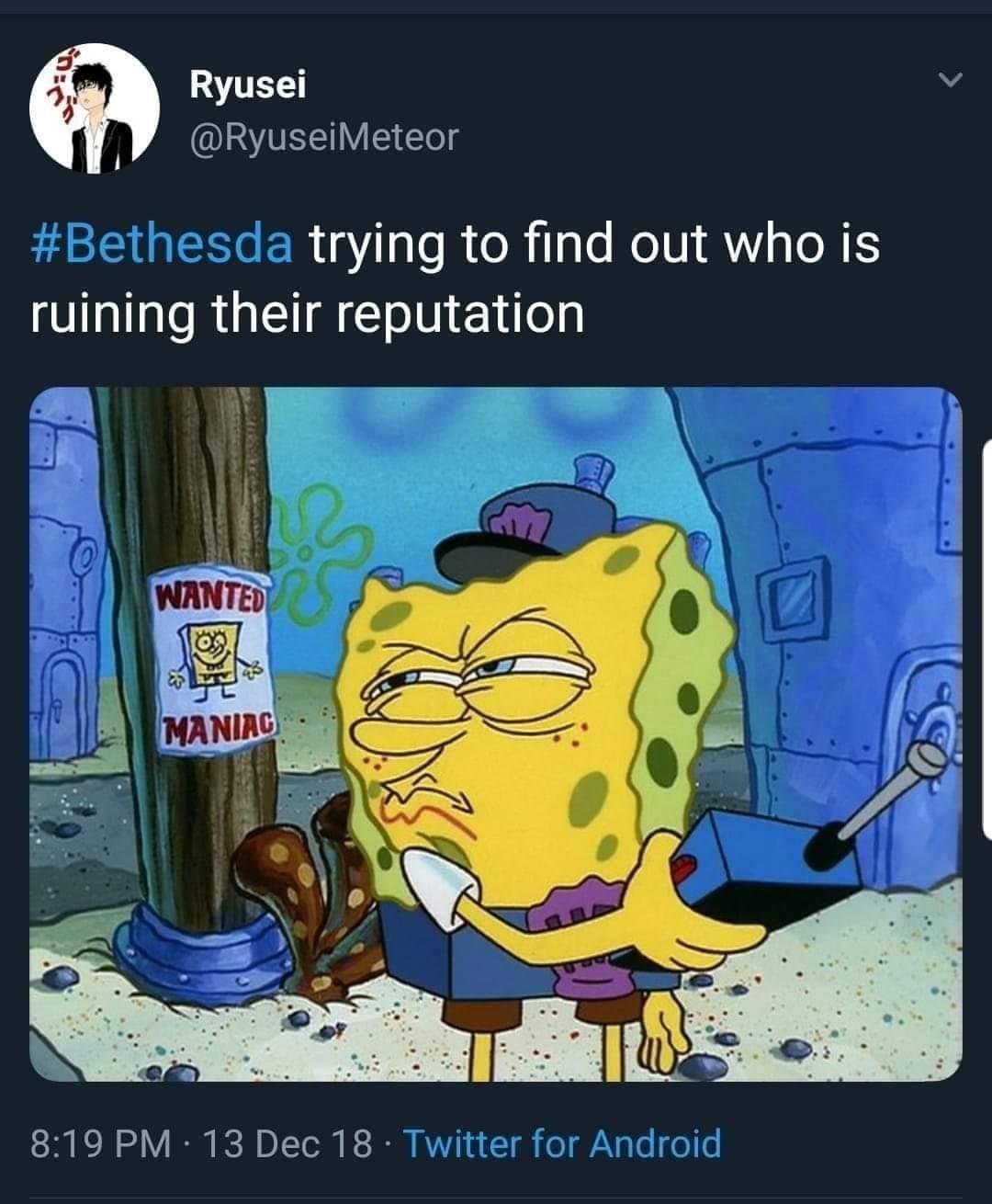 Bethesda - meme
