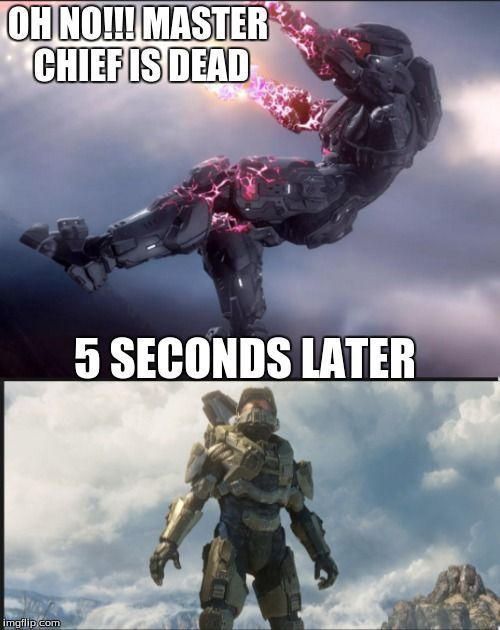 Halo logic - meme