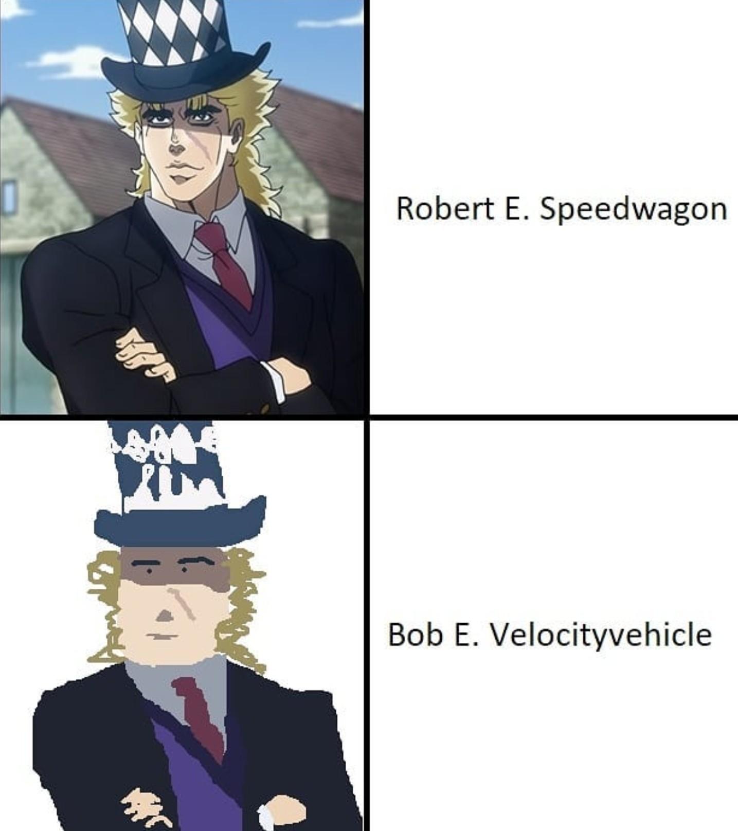 Not a JoJo meme I promise.