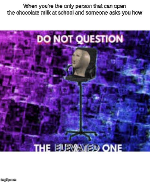 He is almighty - meme
