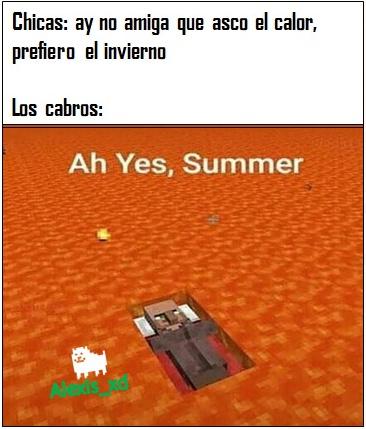 Verano > Invierno - meme