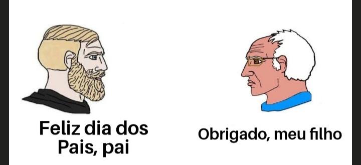 Tiro meu chapéu para os pais do Brasil - meme